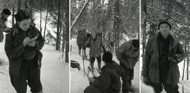 Krivonischenko camera film 1 frames 21-22-19