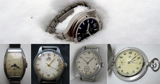 Watches in Dyatlov group