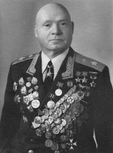 General of the Army D.D. Lelyushenko