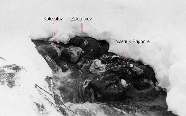 Dyatlov Pass: Kolevatov Zolotaryov and Thibeaux-Brignolle