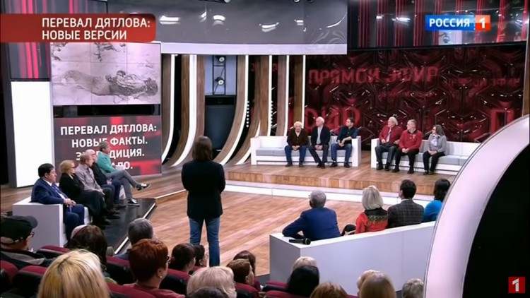 "Dyatlov Pass: Malahov TV ""Live"" screenshot"