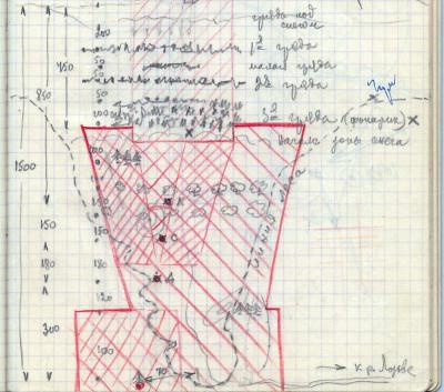Dyatlov Pass: Case file 77 map