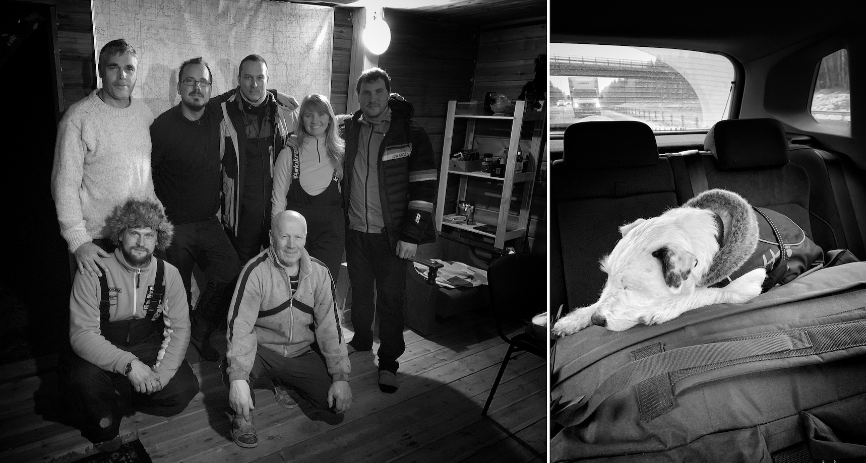 Dyatlov Pass: Many thanks to Vladimir and Vladislav for their great hospitality when repacking in the village of Vizhay.