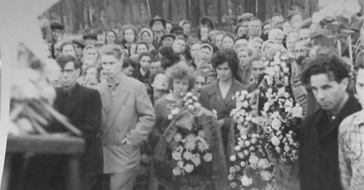 Dyatlov Pass: Funerals in May 1959