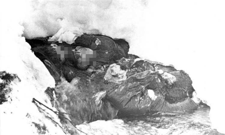 Dyatlov Pass: Dying place of Kolevatov, Zolotaryov and Thibeaux-Brignolle