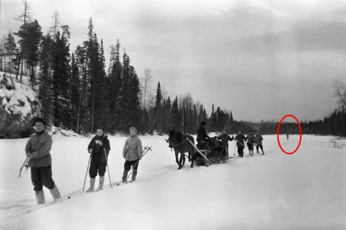 Dyatlov Pass: Unknown camera film 5 frame 7