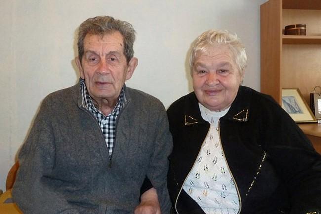 Dyatlov Pass: Konstantin Krivonischenko with wife Nina Panteleevna