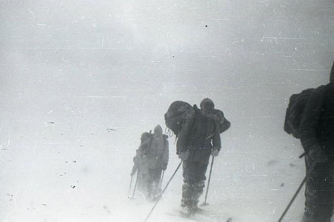 Dyatlov Pass: Krivonischenko's camera film 1 frame 32