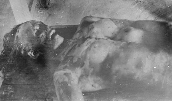 Lyudmila Dubinina post-mortem