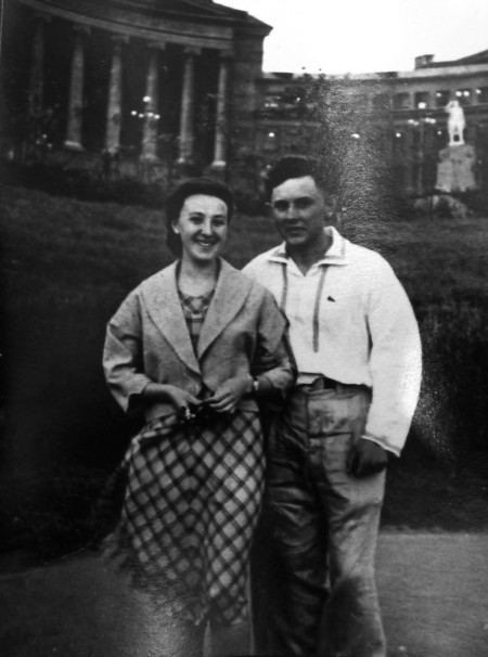 Dyatlov Pass: Yuri Krivonischenko with a friend
