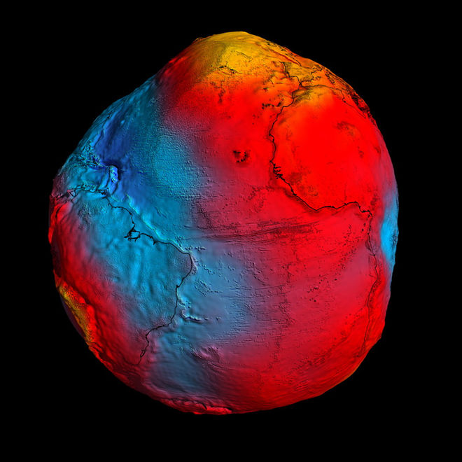Dyatlov Pass: ESA's GOCE geoid model