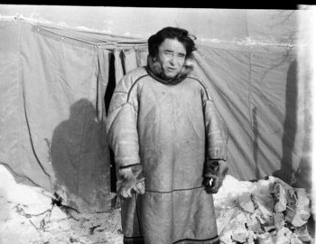 A.A. Anyamov at the base camp on Auspiya. Photos taken before Mar 3 (when Mansi left the search)