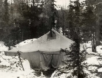 Camp on Lozva.