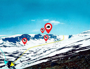 Chivruay Pass incident map