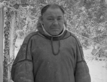Mansi shaman Stepan Kurikov, photo archive Vadim Brusnitsyn