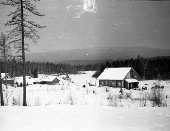 41st district, photo was taken near the logging workers dormitory