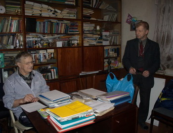 Yuri Yudin and the president Dyatlov group foundation - Yuri Kuntsevich