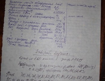 Yuri Yudin's notes after he has read the criminal case in 1998