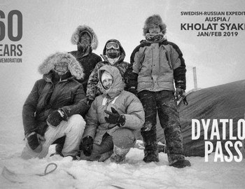 The Swedish-Russian Dyatlov Expedition 2019 - Andreas Liljegren, Ekaterina Zimina, Konstntin Keller, Richard Holmgren and Artem Domogirov