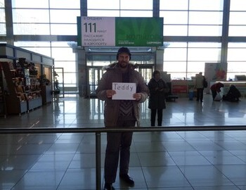 5.II.2019 - Ivan meets me at Koltsovo International Airport (SVX)