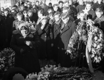 Doroshenko's coffin