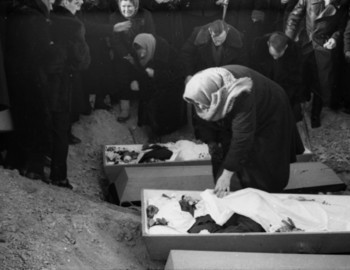 Zina and Doroshenko opened coffins