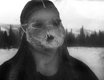 Makeshift ski mask, this is what they use to wear. This is what they we wearing on February 1st 1959