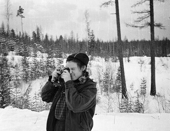 41st district, photo is taken near the logging workers dormitory