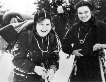 Zinaida on the right